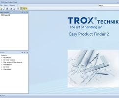 TROX UK: TROX Easy Product Finder