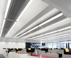 Multi-service chilled beams (MSCB) from TROX UK