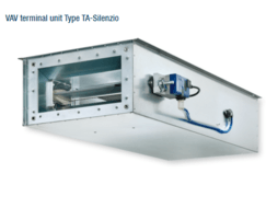 Type TA-Silenzio for low airflow