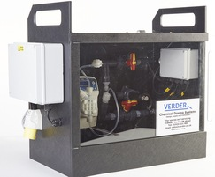 Packed mobile chemical dosing system