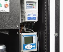 pH meter and inverter
