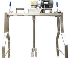 Freestanding mixer unit