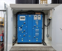 Control panel and housing