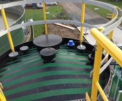 Tank and full gantry/walkways
