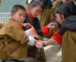 Wavin: Wavin Systems en route to UNICEF in Bhutan