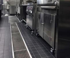 500mm channels for commercial kitchen drainage
