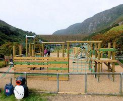 Wicksteed's play area at Elan Valley Visitor Centre