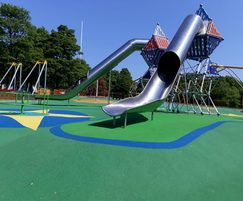Space themed playground