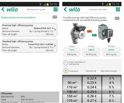 Wilo: Wilo Assistant pump app for Apple and Android devices