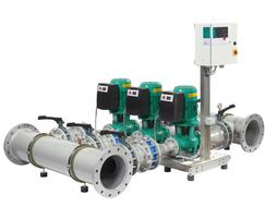 Wilo: New Wilo-SiFlux compact integratable multi-pump system