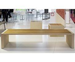Escofet Prima Marina liquid stone (UHPC) benches