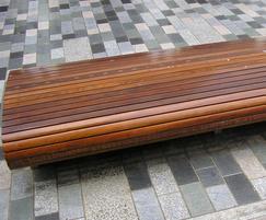 Bespoke street furniture by Woodscape