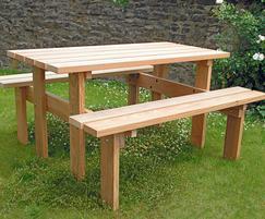 Cleveland hardwood picnic set