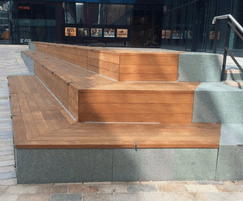 Bespoke seating for First Street Manchester