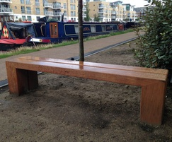 Type 6 hardwood bench for regeneration project