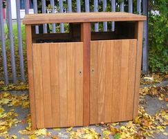 Double bin housing