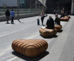 Strata seating - Birmingham New Street railway station