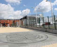 Fencing at Celtic Football Club