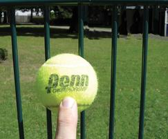 Zaun: UK's only bespoke tennis mesh fencing system improved