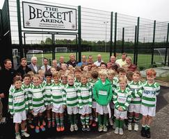 Zaun: AGP success for Writtle Minors with Premier League grant