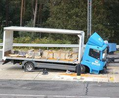 Terror Stopper bollard crash test
