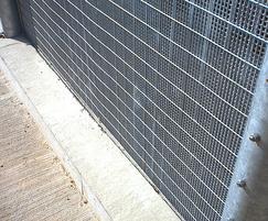 HiSec DualSkin steel mesh fencing has small apertures