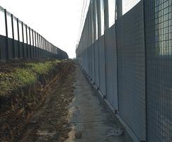 HiSec DualSkin steel mesh fencing for gas network