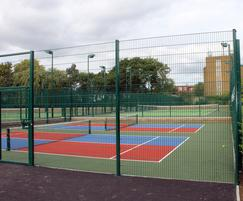 Zaun: Essex council serves up tennis drive