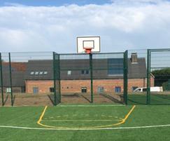 Zaun: Colchester autism school unveils new MUGA