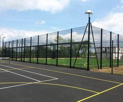 Sports fencing installed for school