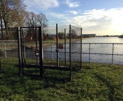Zaun: Wetlands project opens up East London 'open air lung'