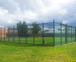 Zaun fencing secures psychiatric unit perimeter