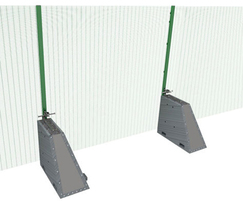 RDS StrongHold® S455-358 temporary site fencing system