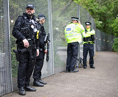 Zaun: Zaun temporary security fencing selected for G7 Summit