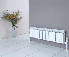 FARAL SILL LINE aluminium radiator, Open Top model