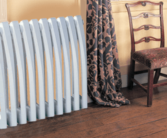 Art Deco cast iron radiator - wall mounted option