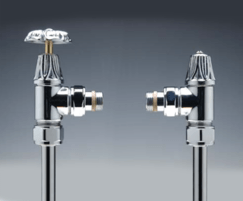 Art deco detail Valves available - MA 13C valves shown