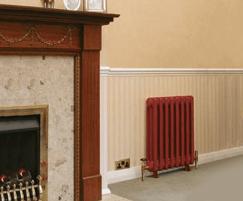 Viscount cast iron radiator in situ