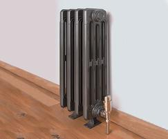 Victoriana 4 column cast iron radiator