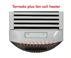 Warmrack Tornado Plus fan coil heater