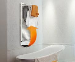 Tornado Plus electric heated towel radiator