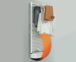 Warmrack Tornado heated towel rail with fan heater