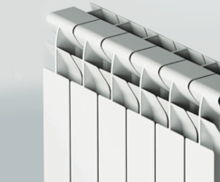 FARAL Tropical 95 aluminium radiator top detail