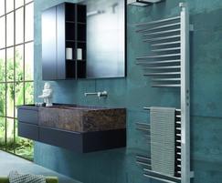 Warmrack Hobson FS chrome heated towel rail