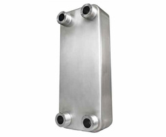 Domestic hot water (DHW) brazed heat exchanger from AEL