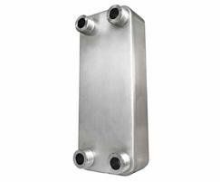 Underfloor heating (UF) brazed plate heat exchangers