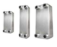 Brazed plate heat exchangers for heat pumps