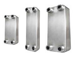 Brazed plate heat exchangers for heat pumps