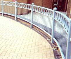 Decorative pedestrian guardrails - DG1104 - Church Sq