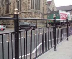 Decorative pedestrian guardrails - DG1111 - Lincoln